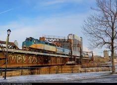 RailPictures.Net Photo: VIA 6411 VIA Rail EMD F40PH at Montreal, Quebec, Canada by Michael Berry