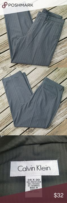 Calvin Klein Dress Pants Calvin Klein Dress Pants Waist 34 Inseam 30 Like New Condition Calvin Klein Pants Trousers