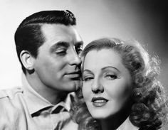 Cary Grant and Jean Arthur are paired up in the 1939 drama Only Angels Have Wings playing the respective lead roles of Geoff Carter and Bonnie Lee