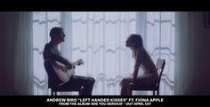 Andrew Bird - Left Handed Kisses (ft. Fiona Apple) [OFFICIAL VIDEO]