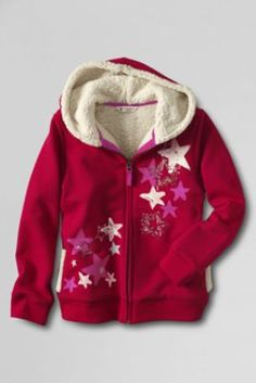 "Girls' Graphic Sherpa Lined Zip-front Hoodie from Lands' End ""Personal Shopper,"" is a free service SYW offers. As a Concierge Personal Shopper, I can assist you with questions, help you locate great items, send you cost saving coupons and save you time. If you need any additional help just link up with me at http://ps.syw.net/invite/lisagutman I Would love to have you as a client. Lisa Gutman-Concierge Personal Shopper"