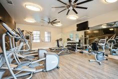 Get your on in our center. Pet Friendly Apartments, Floor Plans, Flooring, Fitness, Table, Furniture, Home Decor, Decoration Home, Room Decor