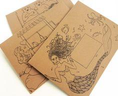Fairytale Mail Art Envelope Templates | The Postman's Knock