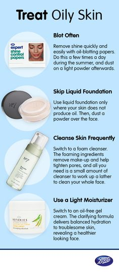 Don't let oily skin