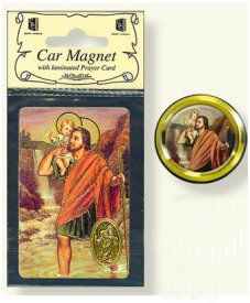 Motorist Car magnets depicting the Lourdes apparitions, Sacred Heart of Jesus and the Holy Family to name a few. Including the motorist prayer depicting St Christopher. Car Magnets, Prayer Cards, Sacred Heart, Prayers, Beans, Prayer