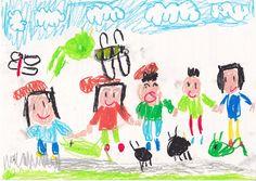 ■■■大熊幼稚園/6歳/女の子■■■ 【作品タイトル】むしとり、たのしいな!!【伝えたい事】トンボ、バッタ、コオロギがたくさんいるんだけど、なかなかつかまえられないよ