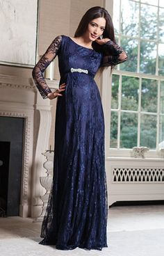 Helena Maternity Gown Long Arabian Nights by Tiffany Rose
