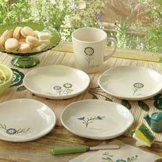 Garden appetizer plates