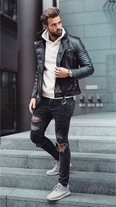 31 Perfect and Stylish Men Casual Outfit with Jacket Dressy Casual Attire, Casual Outfits, Swag Outfits Men, Fashion Outfits, Mens Clothing Styles, Stylish Men, Streetwear, Mens Fashion, Velvet Dresses