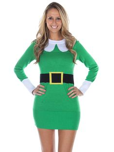 online shopping for Tipsy Elves Women's Ugly Christmas Sweater - Green Elf Sweater Dress from top store. See new offer for Tipsy Elves Women's Ugly Christmas Sweater - Green Elf Sweater Dress Christmas Sweater Dress, Ugly Christmas Sweater Women, Ugly Sweater Party, Tipsy Elves, Girls Christmas Outfits, Holiday Outfits, Winter Outfits, Clothes For Women, Work Clothes