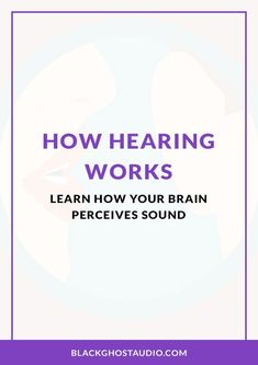 Learn how hearing works by exploring the structure of the outer, middle, and inner ear. Ear Sound, Sound Waves, Sound Wave Frequency, Human Ear, Middle Ear, Human Voice, Way Down, Music Theory