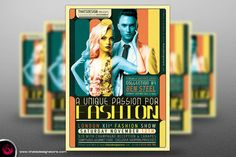 Fashion Show Flyer Template by Thats Design Store on @creativemarket