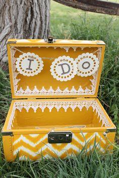 Child at Heart: Wedding Keepsake Suitcase
