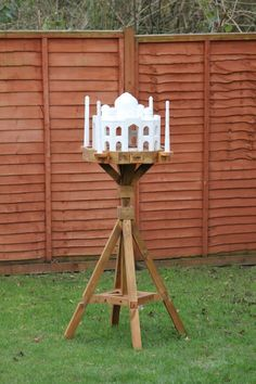 We made this Taj Mahal Bird Table as a bespoke product for a wedding gift for a Hindu couple.
