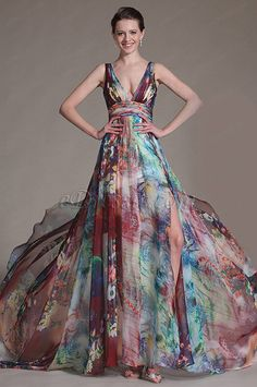 Fashion Ideas Design eDressit 2014 New Printed Halter V-neckline Evening Dress Prom Gown Bridesmaid Dresses, Prom Dresses, Summer Dresses, Dress Prom, Casual Dresses, Fashion Dresses, Formal Dresses, Beautiful Gowns, Beautiful Outfits