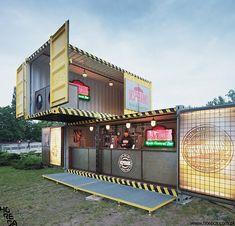 Resultado de imagem para houses made out of shipping containers