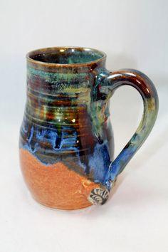 16 oz Pottery mug handmade ceramic mug