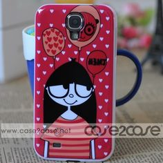 Ugly series Marc by Marc Jacobs Samsung Galaxy S4 Case give your Samsung Galaxy S4 a special look. Great for fashion girl. Marc by Marc Jacobs Samsung Galaxy S4 Case bring you the perfect combination of fashion and function for your iPhone.