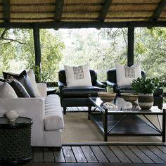 modern contemporary african theme interior decor design