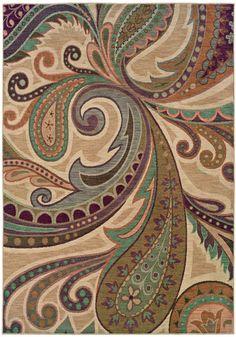 Sphinx Palermo Go #paisley #rugs