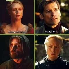 Brienne & Jaime - There's so much respect and honor between them | Game of Thrones