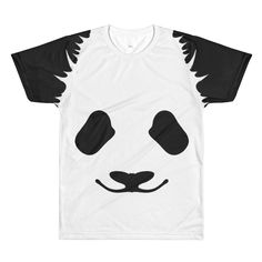 5e005e0527fe1 Panda Sublimation crewneck t-shirt