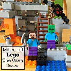 We bought the Minecraft The Cave Lego Set for our 8 year old son. This Minecraft The Cave Lego Set is cool because it comes with 2 minifigs and the giant spider. Minecraft Toys For Kids, Lego Sets For Boys, Best Lego Sets, Cool Toys For Boys, Kids Toys, Christmas Presents For 9 Year Olds, Christmas Gift List, Minecraft Spider, Lego Minecraft