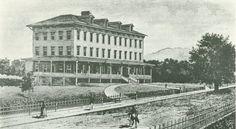 Healdsburg College. Healdsburg, Cal. Boarding House 1882 - 1908