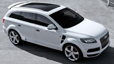 "I have my ""mom car"" all picked out for when the time comes ;-) #audiQ7"