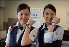 JAL、羽田空港で旅客業務スマート化目指し「iBeacon」と「スマートウォッチ」で実証実験
