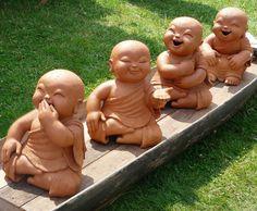 Baby Buddha Statues <3