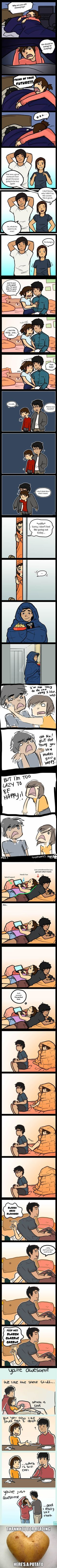 Artist Illustrates The Derpy Nerdy Relationship I LOVE THIS :')