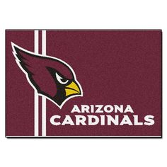FANMATS NFL Arizona Cardinals Nylon Face Starter Rug * Read more  at the image link.
