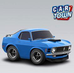 ¡El Ford Mustang Boss 429 1970 está de vuelta! ¡Agarra este raro y muy codiciado puro músculo mientras puedes y completa tu Colección Del 70 Puro Músculo!    15/03/2013