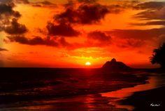 sunrise in hawaii #monogramsvacation