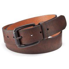 Rock & Republic® Brown Belt - Men, Size: Medium