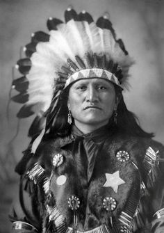 .Good Horse. A Sioux man (Chief?). 1880s. Photo by D.F. Barry.
