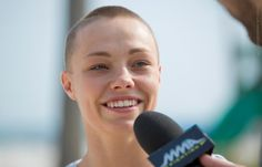 Rose Namajunas talks about her UFC on FOX 19 fight against Tecia Torres, how close she is to a title shot, rooting for Paige VanZant to win Dancing With the Stars, and much more. Paige Ufc, Mma Girl Fighters, Thug Rose, Rose Namajunas, Paige Vanzant, Dancing With The Stars, Martial Arts, Destiny, Fox
