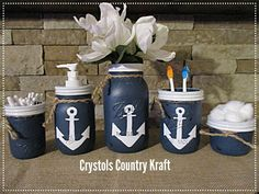 Check out this item in my Etsy shop https://www.etsy.com/listing/609502947/anchor-bathroom-decornautical-decor