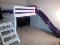 Sienna's loft bed! | Do It Yourself Home Projects from Ana White