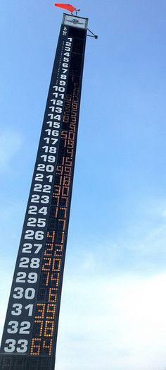 Indy 500 pylon