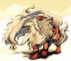 My favorite Pokemon of all time, Arcanine.