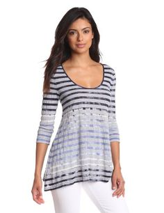 41% Off was $59.50, now is $34.97! Calvin Klein Jeans Women's Shadow Stripe Tie Dye Pullover + Free Shipping