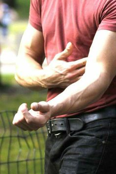 We all know who's arms these are (don't we ladies)