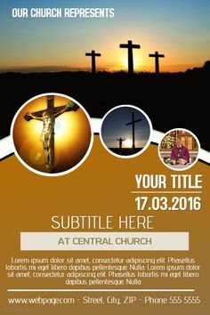 Sunday Church Flyer Template Social Media