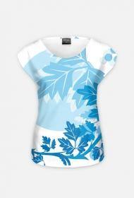 Pełna koszulka-liście