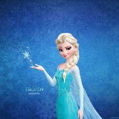 Frozen's Elsa iOS 7 Wallpaper