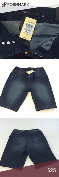 NWT Torrid Denim shorts size 12 NWT Torrid Denim shorts size 12 💕 torrid Shorts Jean Shorts