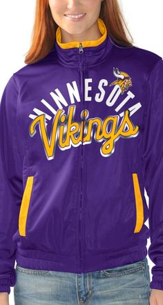 This track jacket is made for the #1 fans.