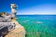 Flowerpot Island l Fathom Five Marine Park Ontario